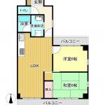 2LDK(LDK・和室6・洋室6)(間取)