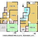 4LDK+納戸(LDK・和室4.5・和室6・洋室6・洋室6・納戸)(間取)
